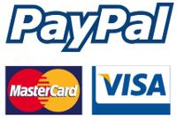 PayPal, MC, Visa